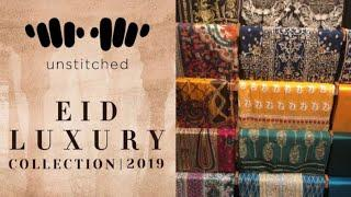Khaadi Eid Luxury collection 2019||Anum's Vlogz
