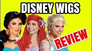 DISNEY WIGS REVIEW DISNEY CHARACTER WIGS