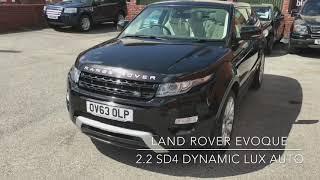 LAND ROVER RANGE ROVER EVOQUE 2.2 SD4 DYNAMIC LUX AUTO