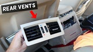 HOW TO REMOVE OR REPLACE REAR VENTS ON BMW E90 E91 E92 E93
