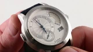Glashutte Original PanoRetroGraph Limited Edition 60-01-01-01-06 Luxury Watch Review