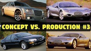 Concept Cars vs. The Real Thing #3 - 1991 Chrysler 300