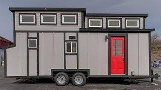 Stunning Luxury Modern Tiny House w/ High-End Custom Furniture & Appliances | Small Homes Design