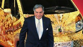 Ratan Tata Car Collection - Gold Car - Landrover & Jaguar Company Owner