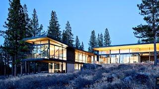Sensational Modern Contemporary Luxury Residence in Truckee, CA, USA (John Maniscalco Architecture)