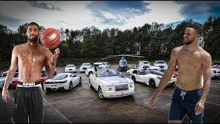 Stephen Curry's Cars VS Kyrie Irving's Cars -2018