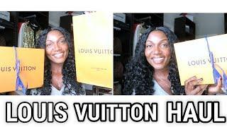 LUXURY LOUIS VUITTON PURSE HAUL+WHAT'S IN MY BAG