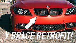 BMW E90 V-Brace Retrofit DIY