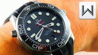 2018 Omega Seamaster Diver 300M Steel (BOND/BLACK) 210.32.42.20.01.001 Luxury Watch Review