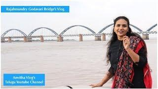 A Luxury Boat Ride on River Godavari Between The Bridge's | Rajahmundry Bridge Vlog | #AndhraPradesh