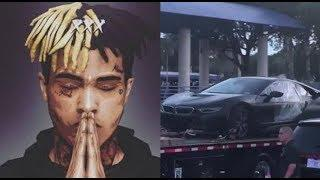 XXXtentacion Car Getting Removed From The Crime Scene