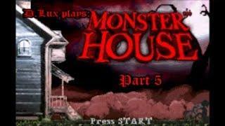 D.Lux plays: Monster House (GBA/2006) Part 5: First Boss: Mrs Nebbercracker Mannequin