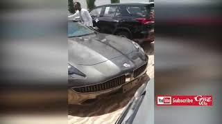 Rev Obofour shows over 25 Luxury Cars in his Mansion