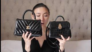 MY FAVORITE LUXURY DESIGNER BAGS, SHOES + AN ANNOUNCEMENT | CHANEL CLASSIC, MULBERRY | LUXY THEORY