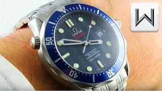"Omega Seamaster Diver 300m ""James Bond"" Seamaster Professional (2220.80.00) Luxury Watch Review"