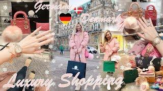 VLOG - LUXURY SHOPPING IN EUROPE ???????????????? CHANEL, HERMES, LOUIS VUITTON & ROLEX ???????? PAC