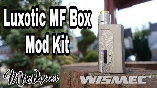 Wismec Luxotic MF Squonk DIY Kit - 21700/20700/18650 - Mike Vapes