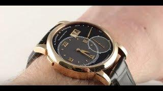 A. Lange & Sohne Grand Lange 1 (115.031) Luxury Watch Review