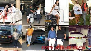 4 CELEBS WHO KICKED OFF 2019 WITH NEW CARS /UZALO TK DLAMINI TO LVOVO
