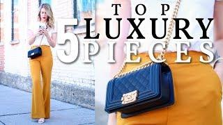FIRST 5 LUXURY ITEMS I WOULD BUY IF I WERE TO START OVER | TAG