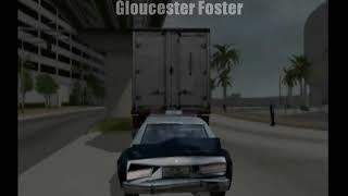 Driver 3 Funny Moments Truck 18 Wheeler Chase Police Cops