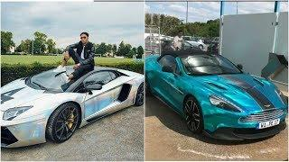 Aubameyang Luxury Cars Collection 2018