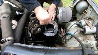 Trabbi und mi episode 4, head gasket  maintenance