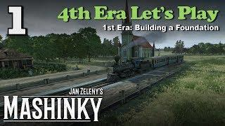 Mashinky 4th Era Let's Play #1 - 1st Era: Building a Foundation