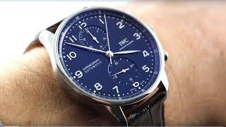 "IWC Portugieser Chronograph Edition ""150 Years"" (IW3716-01) Luxury Watch Review"
