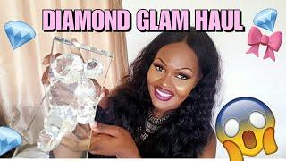 SHOP WITH ME: HOMEGOODS HAUL | DIAMONDS, GIRLY GLAM | SUMMER LUXURY HOME DECOR FINDS | JUNE 2018