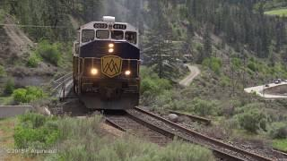 Rocky Mountaineer luxury train Fraser Canyon, natural sound