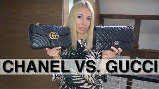CHANEL CLASSIC FLAP VS. GUCCI MARMONT || LUXURY HANDBAG COMPARISON || ANNA IN WARSAW