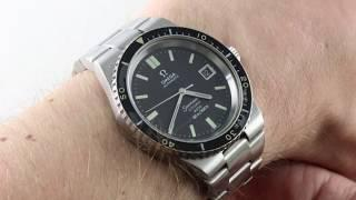 Omega Seamaster Cosmic 2000 Diver (VINTAGE) 166.137 Luxury Watch Review