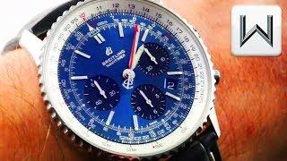 2018 Breitling Navitimer 1 B01 Chronograph 43 AB0121211C1P1 Luxury Watch Review