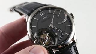 Greubel Forsey Tourbillon 24 Secondes GF01PTCN Luxury Watch Review