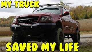 MY TRUCK SAVED MY LIFE!! *STORYTIME*