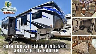 New 2019 VENGEANCE 381L12-6 Luxury Toy Hauler Fifth Wheel RV Greeley Colorado Dealer
