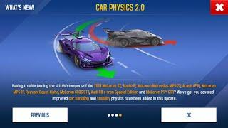 New Update Car Physics 2.0 Asphalt 8   DOES IT ACTUALLY WORKS ?