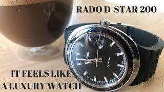 The Rado D-Star 200 is a Luxury Dive Watch at an Affordable Price