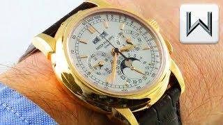 Patek Philippe 5970R Perpetual Calendar Chronograph 5970R-001 Luxury Watch Review