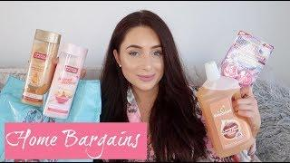 HOME BARGAINS HAUL | HOW CHEAP?! I AM SHOOK!! CHEAP LUXURY PRODUCTS / CLEANING PRODUCTS