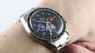 "Omega Speedmaster Professional Moonwatch ""From the Moon to Mars"" 3577.50.00 Luxury Watch Review"