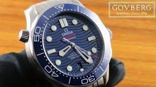 Omega Seamaster Diver 300m (Steel) 210.30.42.20.03.001 Luxury Watch Review