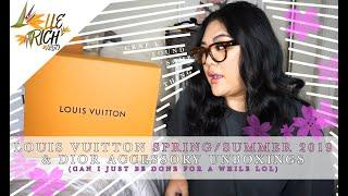LOUIS VUITTON SPRING/SUMMER 19 & DIOR UNBOXINGS | GIVEAWAY WINNERS