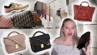 DIOR, CELINE, LOUIS VUITTON & A Bit Of CHANEL Luxury Shopping Vlog (Vlogtober !!!)