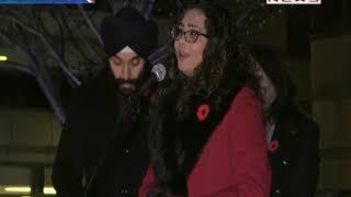 Candle Light Vigil for Khushboo, Prakrit Dogra, the Victims of Mississauga Crash