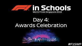 F1 in Schools World Finals Singapore 2018 - Day 4 - Awards Celebration