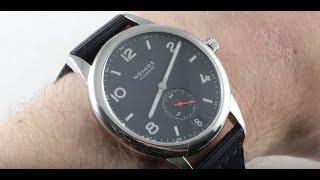 Nomos Glashutte Club Datum Atlantik 776 Luxury Watch Review