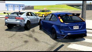 Luxury Car Crashes Compilation #25 - BeamNG Drive