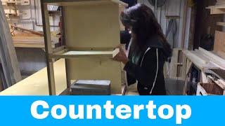 Installing Countertop - Luxe luxury fifth wheels